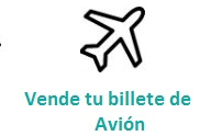 Vende tu billete de Avión